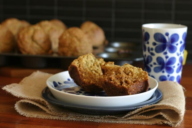 orange earl grey muffins with toasted millet // themuffinmyth.com