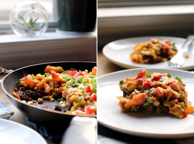 Guest Post: {Stovetop} Mexican Black Bean Quinoa Skillet