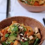 no-noodle pad thai stir-fry // the muffin myth