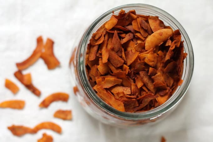 coconut bacon – the real maple kind