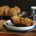 orange earl grey muffins