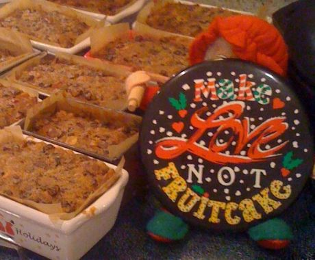 make love, not fruitcake