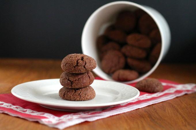 spicy chocolate snickerdoodles