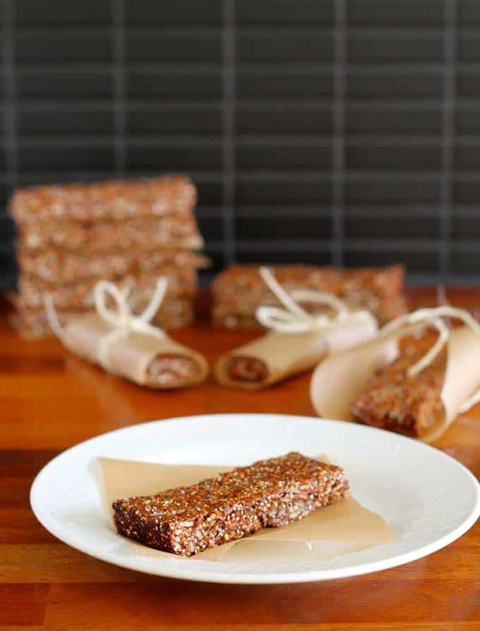 super seed bars // the muffin myth