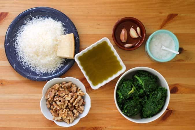 kale and walnut pesto // the muffin myth