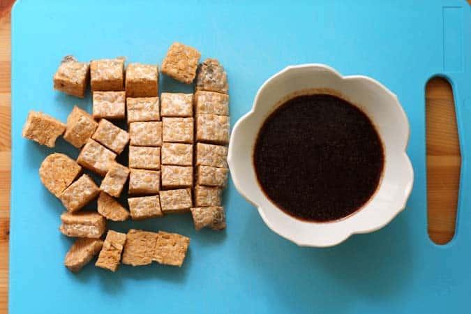 baked sriracha tempeh bowls // the muffin myth