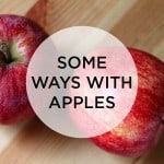 some ways with apples