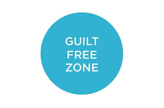 dealing with food guilt