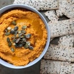 pumpkin hummus // the muffin myth