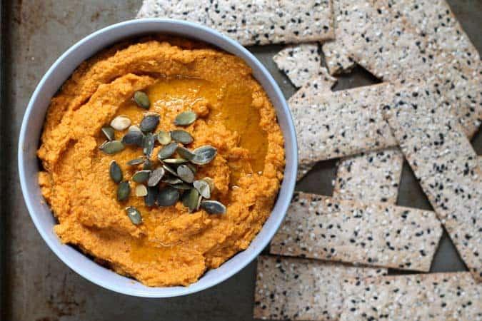 pumpkin hummus // the muffin myth