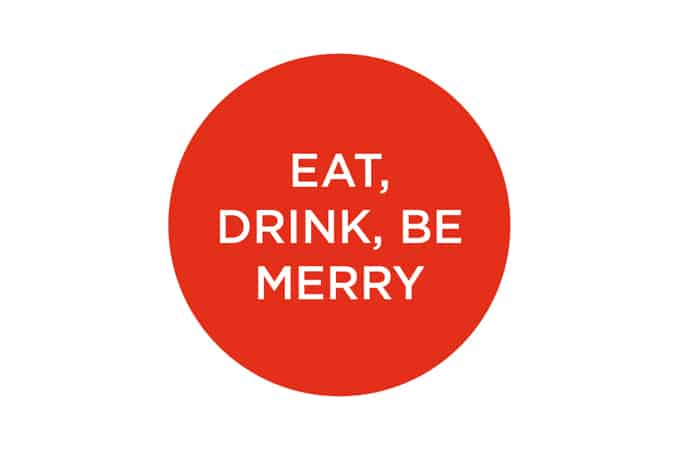 eat, drink, be merry - some thoughts on holiday eating // themuffinmyth.com