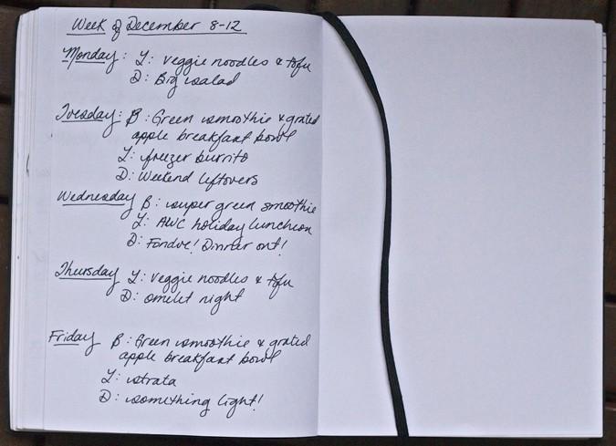 meal plan december 8-12 // www.heynutritionlady.com