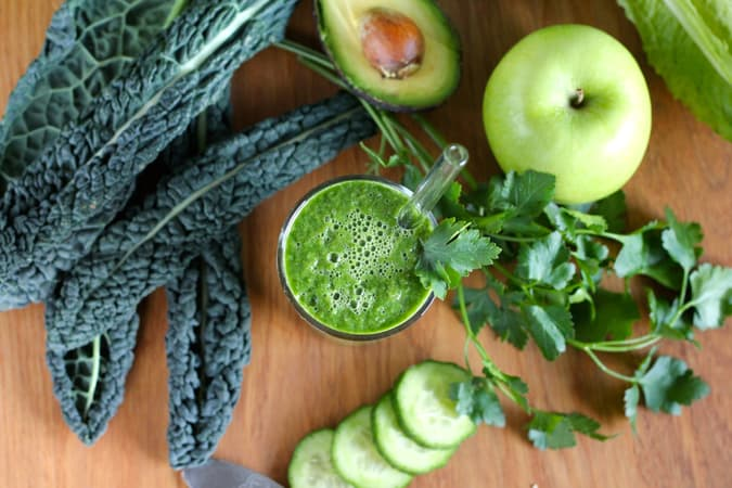 the greenest smoothie // www.heynutritionlady.com