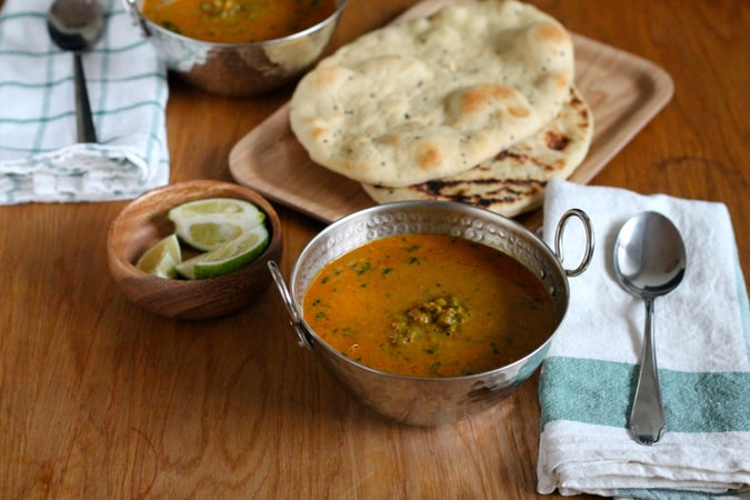 mung bean and coconut curry // themuffinmyth.com