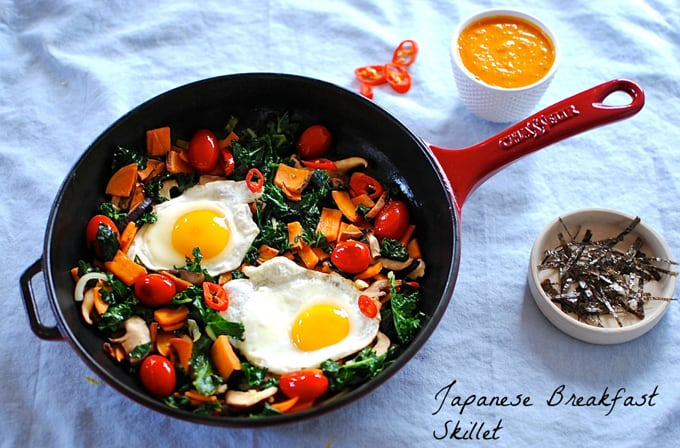 japanese breakfast skillet from kelliesfoodtoglow.com