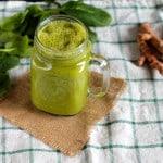mango turmeric sunshine smoothie // www.heynutritionlady.com