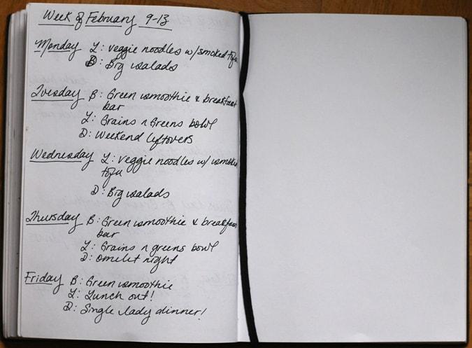 meal plan february 9-13 // www.heynutritionlady.com