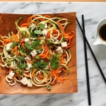 Asian {veggie} noodle salad