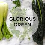 green, glorious green!