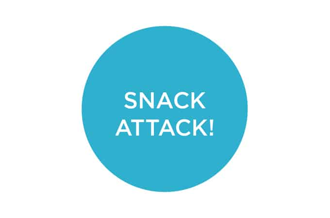 snack attack! thoughts on snacking smart // www.heynutritionlady.com