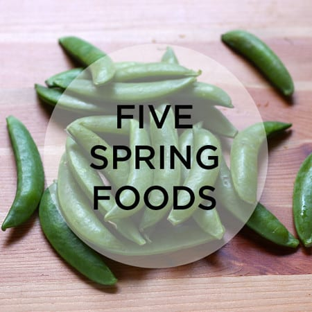 five spring foods we should be eating // www.heynutritionlady.com