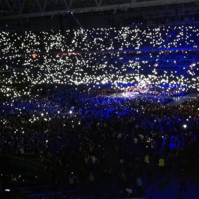 Madonna lights // www.heynutritionlady.com