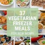 Vegetarian Freezer Meals for New Moms