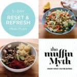 free five-day reset and refresh meal plan