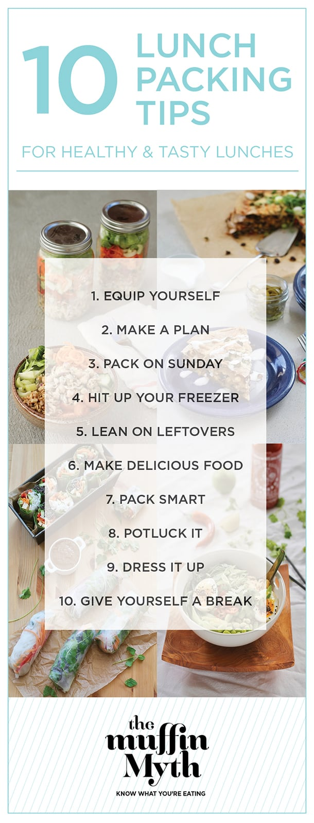 10 lunch packing tips for healthy, tasty, and budget-friendly lunches