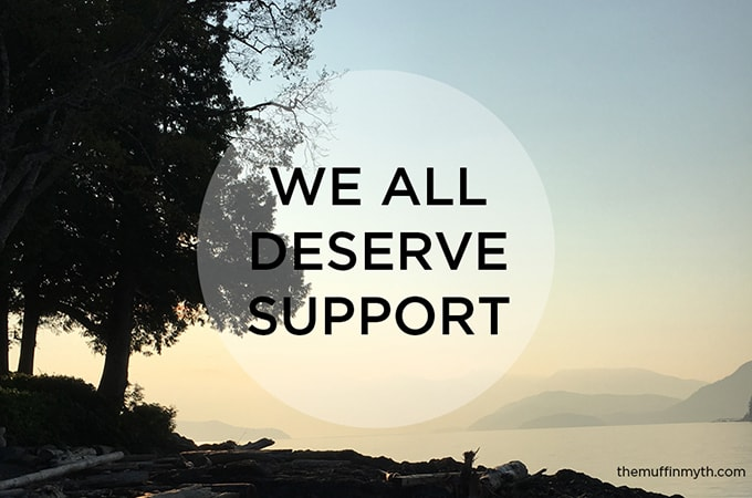 we all deserve support - thoughts on how to have a conversation about weight loss in a respectful and supportive way