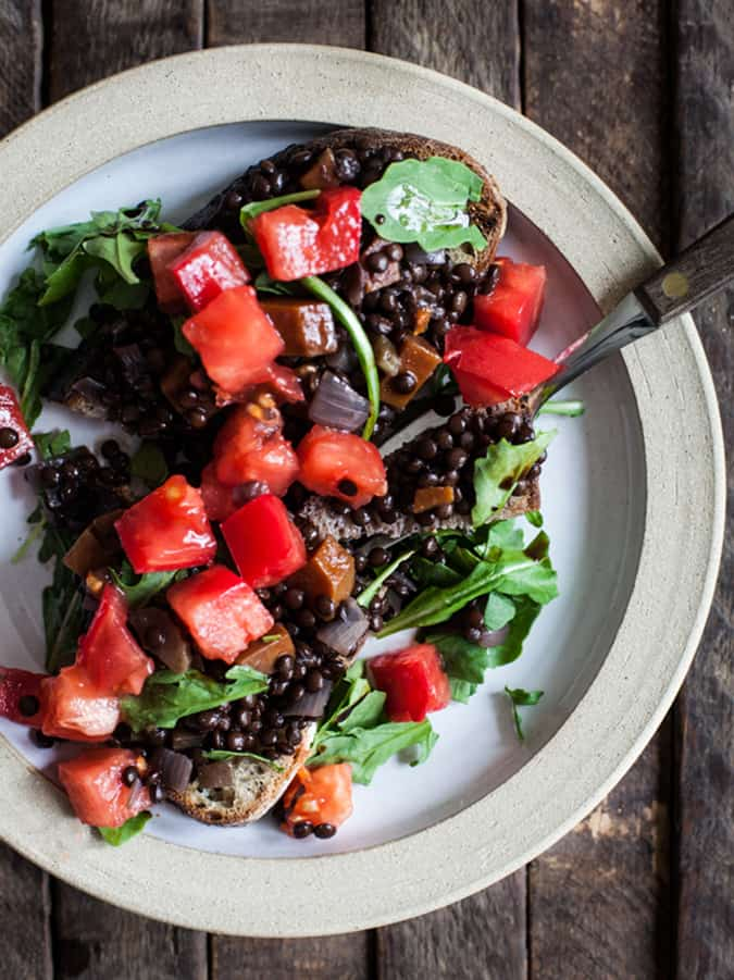 what's good around the web: braised lentils on toast