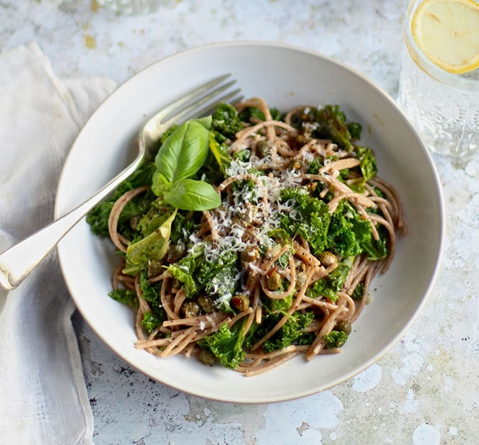 What's good around the web: Garlicky Kale Spelt Spaghetti