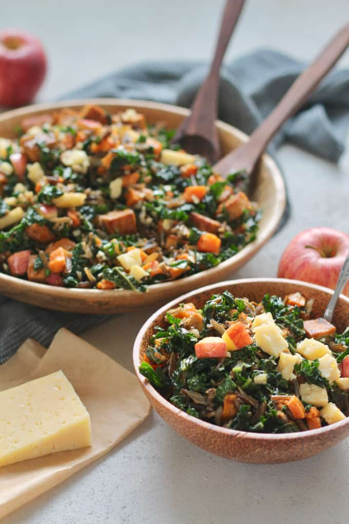 wild rice bowls with sweet potato and spicy tofu // themuffinmyth.com