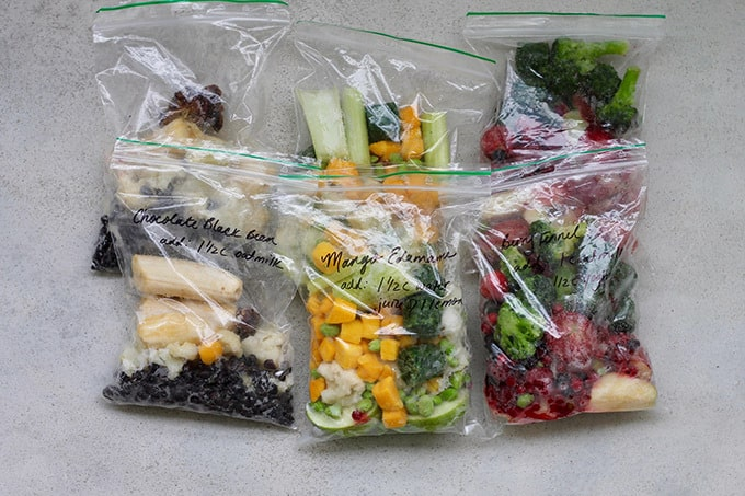 Make-And-Freeze Smoothie Packs