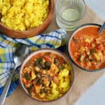 how to make slow cooker chickpea and potato curry