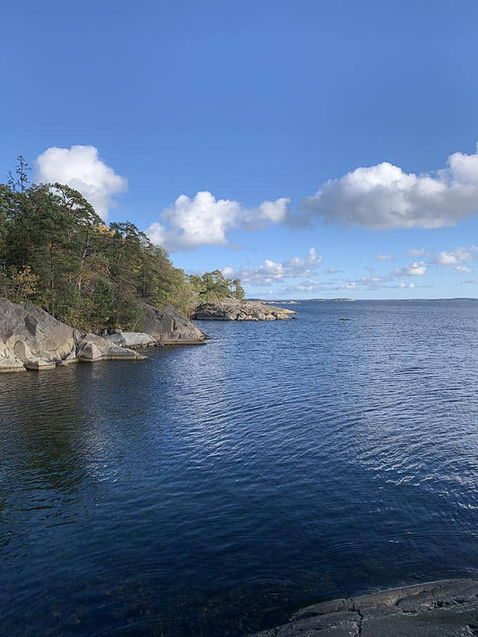 an island in the stockholm archipelago